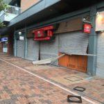 台風21号による足掛け4日間の停電生活